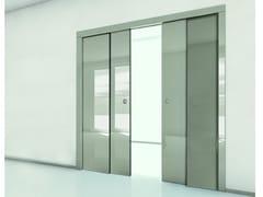 Controtelaio per porta scorrevole ad ante paralleleORCHIDEA | Controtelaio per porta scorrevole ad ante parallele - FIBROTUBI