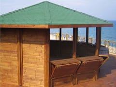 Gazebo chiosco in legnoORIENTE - ALCE