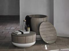 Top in legno mensola da bagno per lavabo
