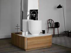 Mobile lavabo singolo in legno con cassetti ORIGIN | Mobile lavabo singolo - Origin