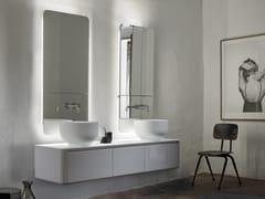 Mobile lavabo doppio sospeso con cassetti ORIGIN | Mobile lavabo sospeso - Origin