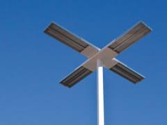 ENGI, ORIOLED Lampione stradale a LED in alluminio anodizzato