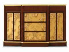 Madia con cassetti in legno e marmo di CarraraORION - ARNABOLDI INTERIORS