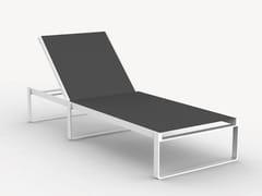 Lettino da giardino reclinabile in alluminioORION - CIELA MARE