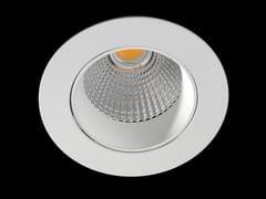 Faretto a LED rotondo in alluminio verniciato a polvere da incasso ORION DEEP -