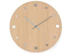 Orologio in legno massello da pareteORLOI - FRATELLI DEL FABBRO