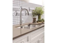 Mosaico in poliuretano per interni ed esterniORNAMENT BRUGNA - MYMOSAIC