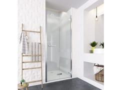 Flair Showers, ORO BIFOLD DOOR Porta pieghevole in vetro per doccia