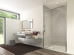 Flair Showers, ORO SLIDING DOOR Porta scorrevole in vetro per doccia