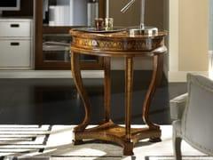 Tavolino alto ovale in legno da salottoORPHEO MAGGIOLINI | Tavolino alto - ARVESTYLE