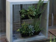 PAOLELLI GARDEN, ORTO IN CASA Griglia per verde verticale autoportante in cemento