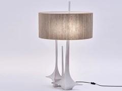 Lampada da tavolo a luce indiretta in canapa in stile modernoOSCAR - PAOLO CASTELLI