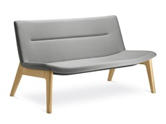 Divano in tessuto a 2 posti OSLO LOUNGE D-2 - LD SEATING