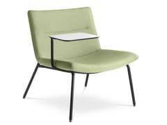 Poltrona in tessuto con ribaltinaOSLO LOUNGE K-1 | Poltrona con ribaltina - LD SEATING