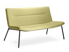 Divano imbottito in stile moderno a 2 posti per contractOSLO LOUNGE K-2 - LD SEATING
