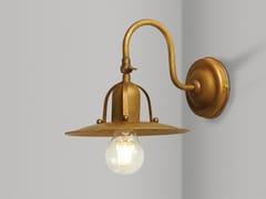 Lampada da parete in ottone OSTERIA 839/42 - Osteria