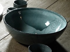 Coppa in ceramicaOT07026 | Coppa - GRUPPO ROMANI