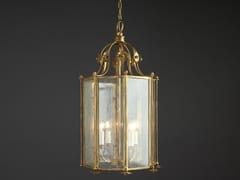 Lampada a sospensione a luce indiretta in ferro e vetroOTTAGONA FIORI - OFFICINACIANI DI CATERINA CIANI & CO.