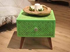 Tavolino quadrato in legno con vano contenitoreOTTAVIO | Tavolino quadrato - ARVESTYLE