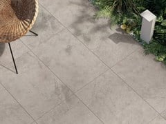 Lastra per esterno in gres porcellanato OUT.20 ATLANTIS Sand Hammered - ABK GROUP INDUSTRIE CERAMICHE