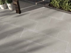 Lastra per esterno in gres porcellanato OUT.20 GENT Ash - ABK GROUP INDUSTRIE CERAMICHE
