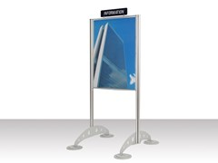 GEPROM design, OUT-TOTEM Espositore bifacciale