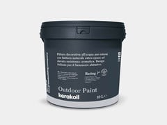 Pittura decorativa all'acqua per esterni OUTDOOR PAINT - KERAKOLL DESIGN HOUSE