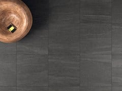 Pavimento in gres porcellanato effetto pietraOVERLAND DARK - CERAMICHE MARCA CORONA