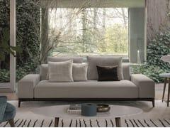 Divano componibile in tessuto con chaise longueOVERPLAN | Divano - DÉSIRÉE DIVANI
