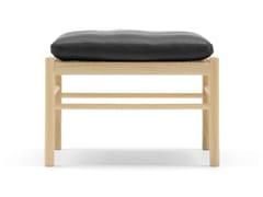 Poggiapiedi in legno masselloOW149F | Colonial Footstool - CARL HANSEN & SØN MØBELFABRIK A/S
