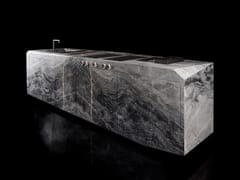 Cucina in pietra con isolaOZONE L - H-07