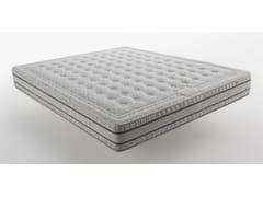 Materasso anallergico antibatterico antidecubito in gomma Orizzonti - Latex Memory - Materassi Orizzonti