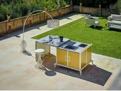 Cucina da esterno elettrica con grillCucina da esterno con grill - DFN