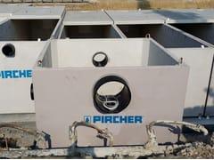 Pircher, P.R. | Pozzetto ripartitore rettangolare  Pozzetto ripartitore rettangolare