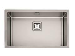 Lavello a una vasca in acciaio inoxP1B 7545 Q F-SF | Lavello - FULGOR MILANO BY MENEGHETTI