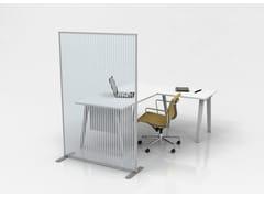 Pannello divisorio per ufficio in policarbonatoPA16 - STUDIO T