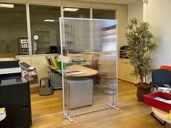 Pannello divisorio per ufficio modularePA16 - STUDIO T