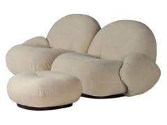 Divano componibile a 2 posti con poggiapiediPACHA SOFA | 2 seater armrests ottoman - GUBI