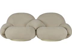 Divano componibile modulare a 2 postiPACHA SOFA | 2 seater central armrest - GUBI