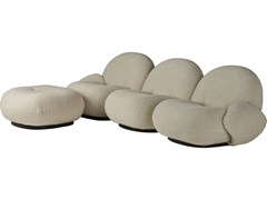 Divano componibile a 3 posti con poggiapiediPACHA SOFA | 3 seater armrests ottoman - GUBI
