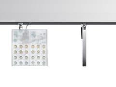 Illuminazione a binario a LED in alluminio estruso PAD SQUARE - Pad