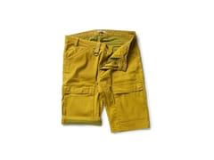 DIKE, PADDOK OCRA Pantalone in tessuto armaturato