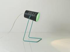 Lampada da tavolo in resina effetto lavagna PAINT T LAVAGNA - Matt Lavagna