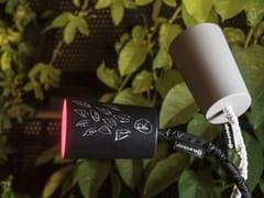 Lampada da tavolo a LED in acciaio con braccio flessibilePAINT T2 LAVAGNA/CEMENTO - IN-ES.ARTDESIGN