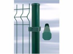 Palo per recinzione in acciaio zincatoPALDECO - GRUPPO CAVATORTA