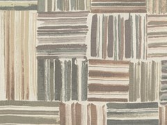 Carta da parati patchwork in tessuto non tessutoPALENQUE - JANNELLI & VOLPI