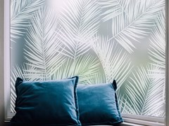 Pellicola per vetri adesiva decorativa PALM LEAVES - ACTE DECO