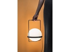 Lampada da tavolo a LED in vetro soffiatoPALMA | Lampada da tavolo - VIBIA