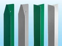 """Pali a """"T"""" per il sostegno di recinzioni metallichePALO A"""