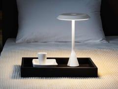 Lampada da tavolo a LED in alluminio senza filiPANAMA MINI - NEMO